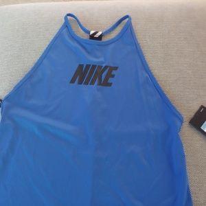 Nike Training Blue Tank - Brand New